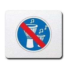 no_djembe_playing_spain_mousepad